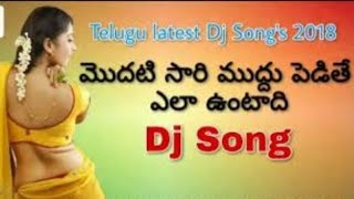 Modatisari muddu Dj song Mix By Dj charan  Telugu Dj Song 2018