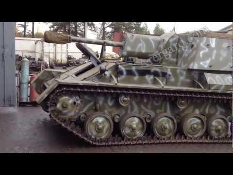 Реставрация советской САУ Су-76м / The restoration of the Soviet SU-76M