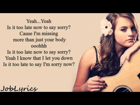 Sorry  - Justin BieberTayler Buono Cover