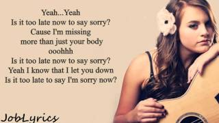 Sorry Lyrics - Justin Biebertayler Buono Cover - Sorry Lyrics - Justin Biebertayler Buono Cover S