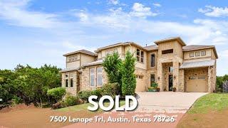 SOLD | 7509 Lenape, Austin TX | 4 Bed, 5 Bath, Generational Living