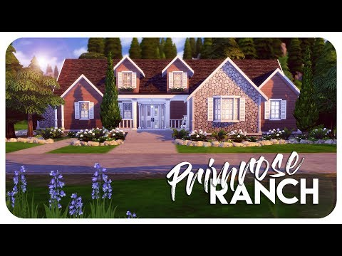 Sims 4 House Build - Primrose Ranch for #SimsWithDisabilities