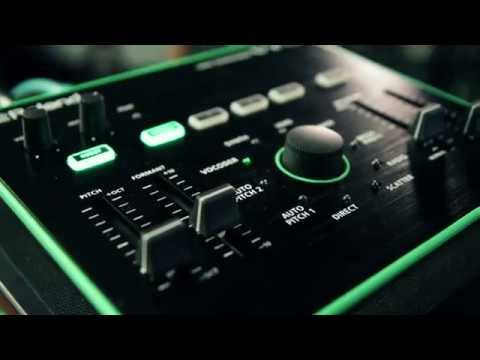 Roland VT 3  Voice Transformer Demo