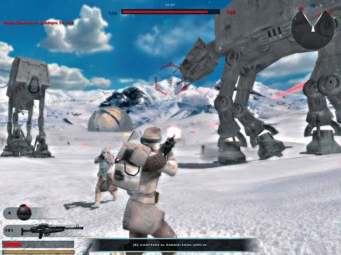 Star Wars: Battlefront II Mod- Hoth Jedi Support | HD Mods And Maps