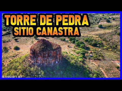 TORRE DE PEDRA SITIO CANASTRA ENTRE IPUBI E SERRA BRANCA