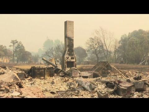 Calif. Lawmakers Tour Napa Wildfire Devastation