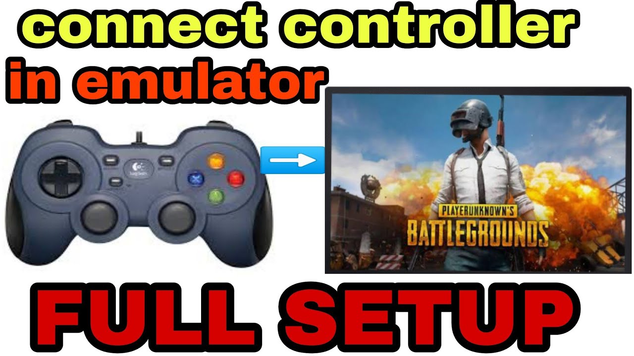 How to play pubg mobile emulator with controller