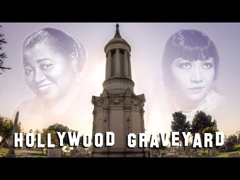 FAMOUS GRAVE TOUR - Angelus Rosedale & Chapel of the Pines (Hattie McDaniel, Anna May Wong, etc.)