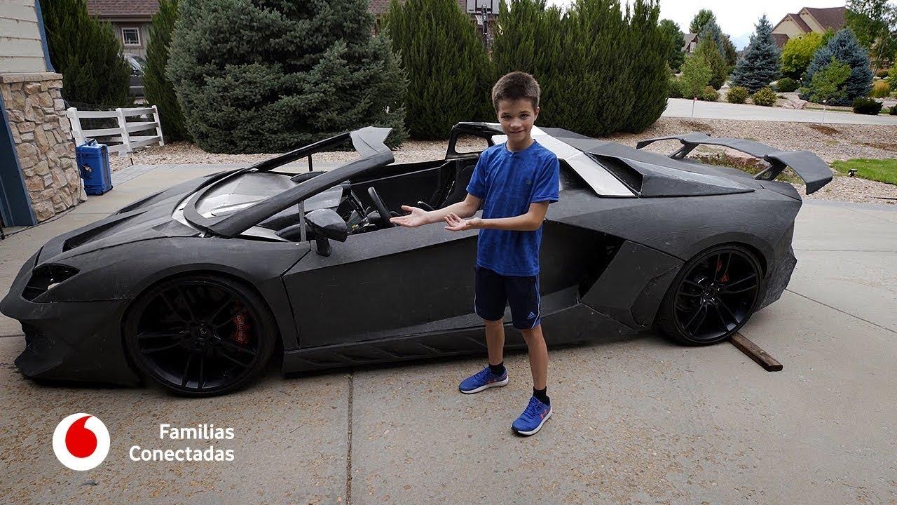 Papá, ¿me imprimes un Lamborghini?