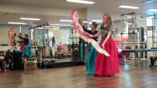 Traditional Korean Fan Dance lesson