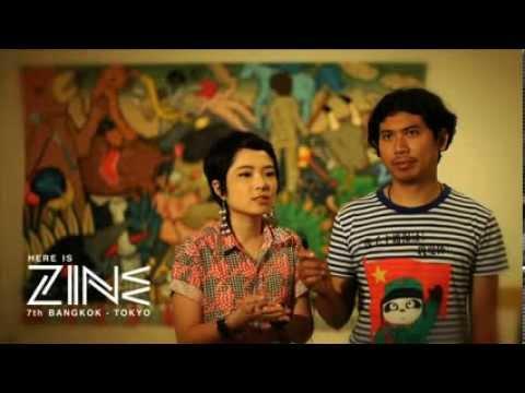 Here is ZINE 7th Bangkok - Tokyo : Artists Lineup 007