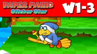 Paper Mario Sticker Star - W1-3 - Water