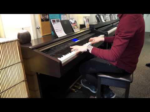 Piano yamaha arius ydp 161 unboxing doovi for Yamaha arius ydp v240 review