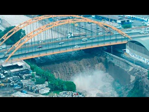 ¡ATENCIÓN! Crece caudal del Río Rímac por lluvias