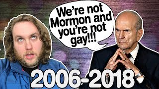 How the Mormons REALLY Feel About the LGBT Community (A Timeline: 2006-2018)