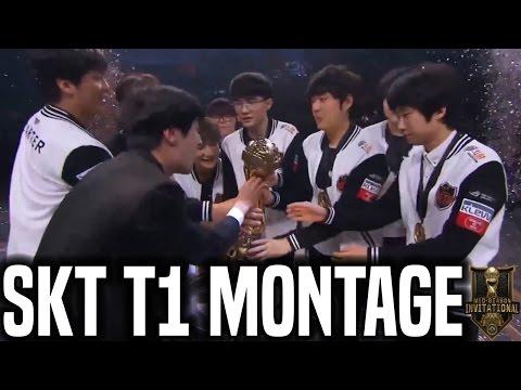 SKT T1 MSI 2017 Montage