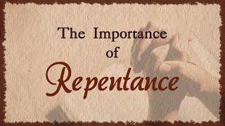 La importancia del arrepentimiento