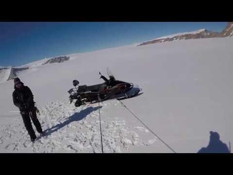 Geologists in Antarctica