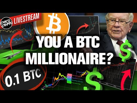 You're Already A BITCOIN Millionaire! Why? HODLing .01 BTC!?