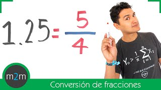 Conversión de una fracción a decimal y viceversa - HD