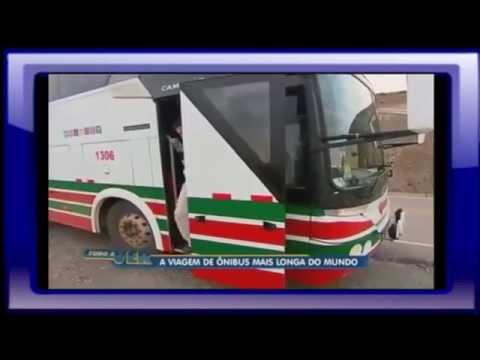 Maior Viagem de Ônibus do Mundo, Expresso Ormeño, São Paulo a Lima
