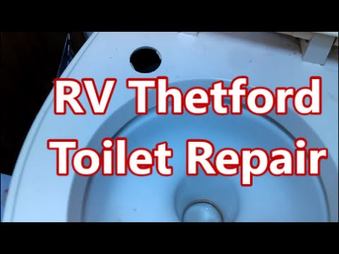 RV Thetford Toilet Leak Repair - Parts ARE Available - Part 1 - YouTube