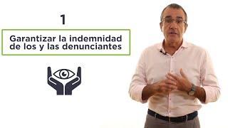 Enmiendas para la ley anticorrupción. Juan Pedro Yllanes.
