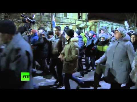 Crimea--What it looks like now: PRO-RUSSIA / Порошенко прогнали из Крыма