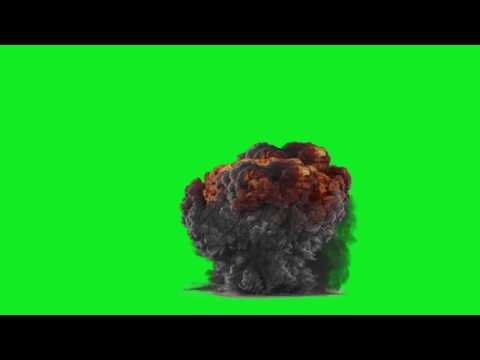 Bomb Green Screen Effect