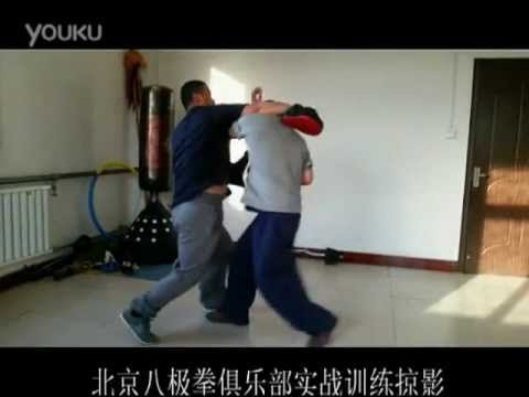 Beijing Baji Quan club : fight applications