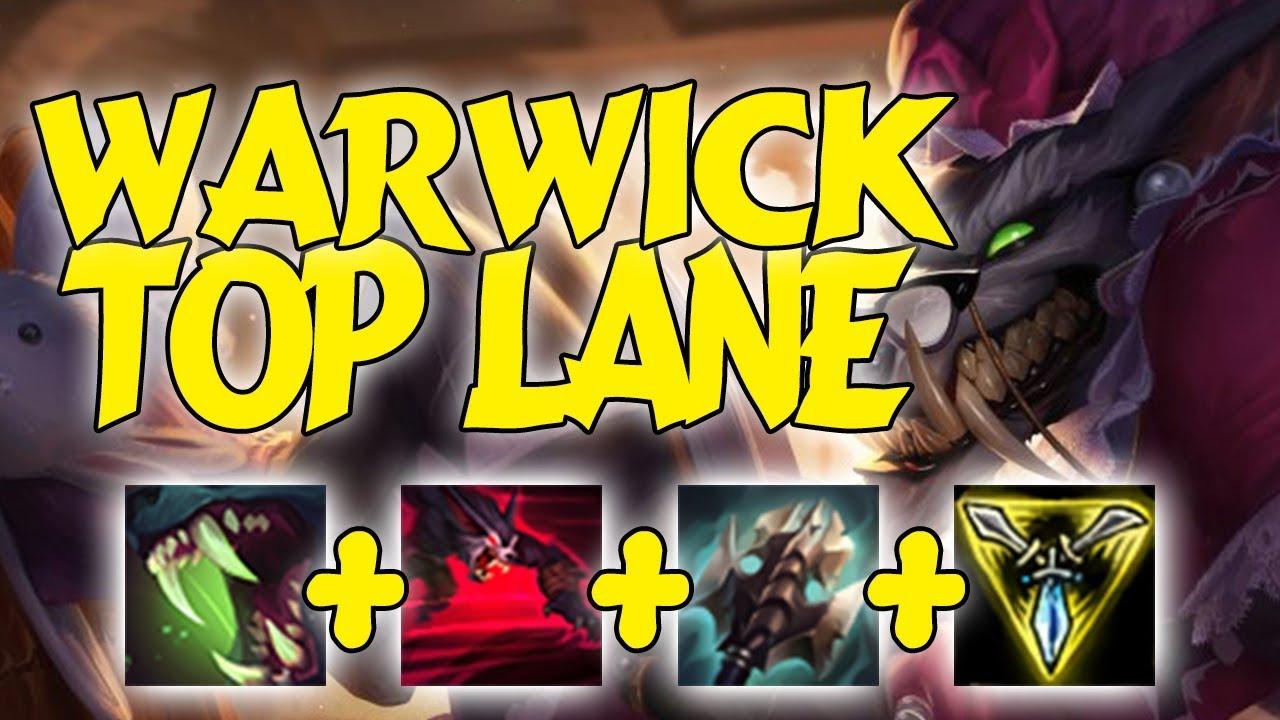 HÀ TIỀU PHU | Warwick Top Lane Tát Cái Là Có Án Mạng | Các Cháu Hư Quá - League of Legends