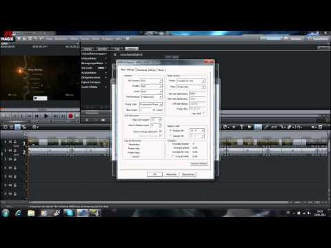 Magix Video deluxe 17 HD Tutorial Videos rendern