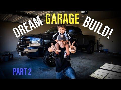 Building My DREAM Garage - Part 2: Walls