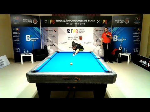 Campeonato Nacional Pool Equipas SLB/HotShot 2 vs AB Miguel Silva (L. Tavares vs M. Silva)