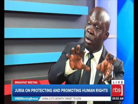 JURIA on Protecting and Promoting Human Rights (Jude Ogik)