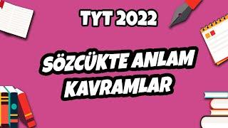 Sözcükte Anlam -1 Kavramlar  TYT Türkçe 2021 hedefekoş
