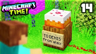 Minecraft Time SMP: Ep 14 - DENIS' BIRTHDAY SURPRISE!