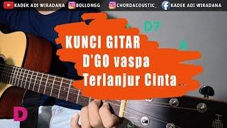 KUNCI GITAR D'GO VASPA - TERLANJUR CINTA