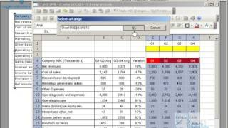 link table selector to chart in xcelsius www myxcelsius com
