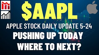 $AAPL APPLE STOCK UP TODAY, WHERE TO NEXT?? Apple Stock Analysis   Live Wellthy Stocks