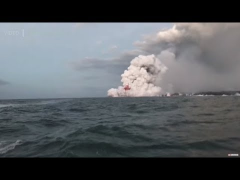 'Life-changing experience': Lava bomb hits tourist boat in Hawaii