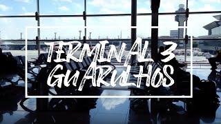 Novo Terminal 3 de Guarulhos e o que mudou no Aeroporto - Vlog 21