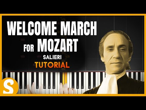How To Play Welcome March To Mozart By Salieri Smart