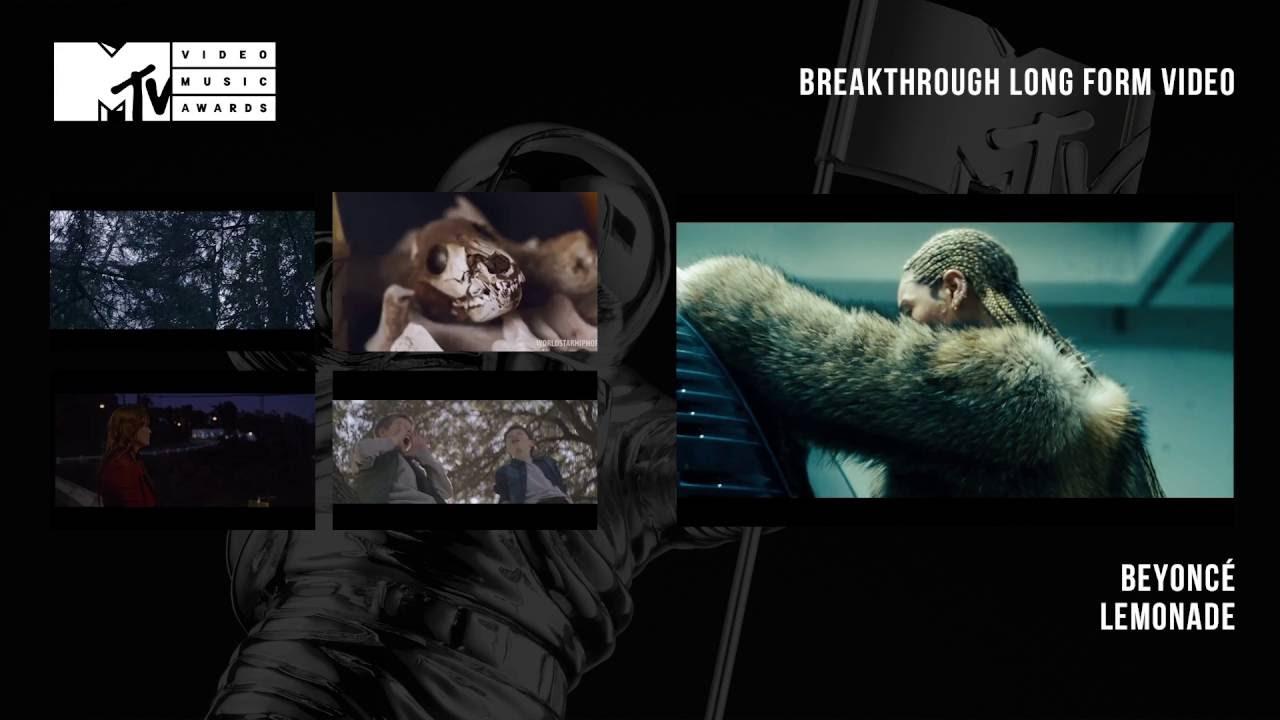 MTV Video Music Awards 2016 - Breakthrough Long Form Video ...