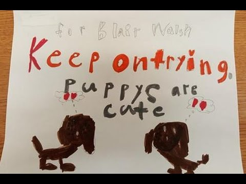 Blaine First-Graders Write Letters to Cheer Up Vikings Kicker Blair Walsh