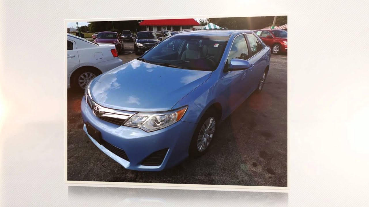 Get a Great Used Toyota Camry in West Palm Beach