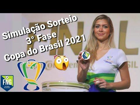 SIMULAÇÃO sorteio Copa do Brasil 2021 - TERCEIRA FASE - YouTube