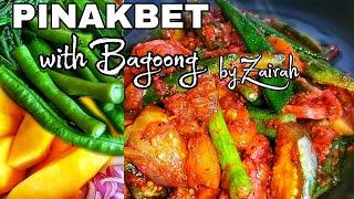Pinakbet Recipe How to cook Pinakbet with bagoong Alamang Panlasang PinoyZAI RAH