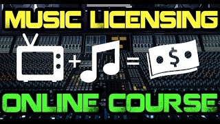 Music Licensing Online Course [Pt. 1 of 5] thumbnail