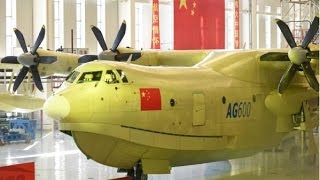Live: World's largest amphibious aircraft rolls off assembly line
